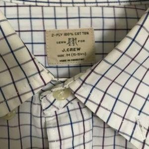 J.Crew Men's Plaid Button Down Shirt
